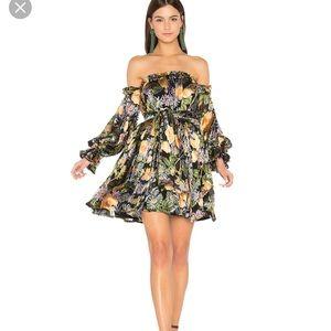 For Love and Lemons Lucians Mini Dress XS